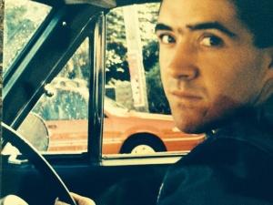 ad in car